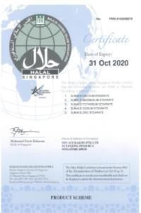 イスラム教向けハラル認定書取得